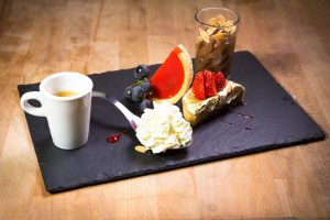 Image Café gourmand la Carte l'Index Restaurant 87 Boulevard de l'Europe à Pierre-Bénite