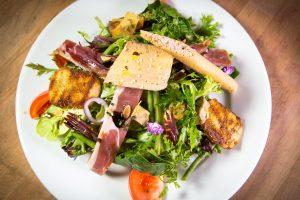 La cuisine du Chef Salade du Sud Ouest l'Index Restaurant 87 boulevard de l'Europe Pierre-Bénite